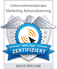 Konzept Marketing Email Marketing mit Klick Tipp